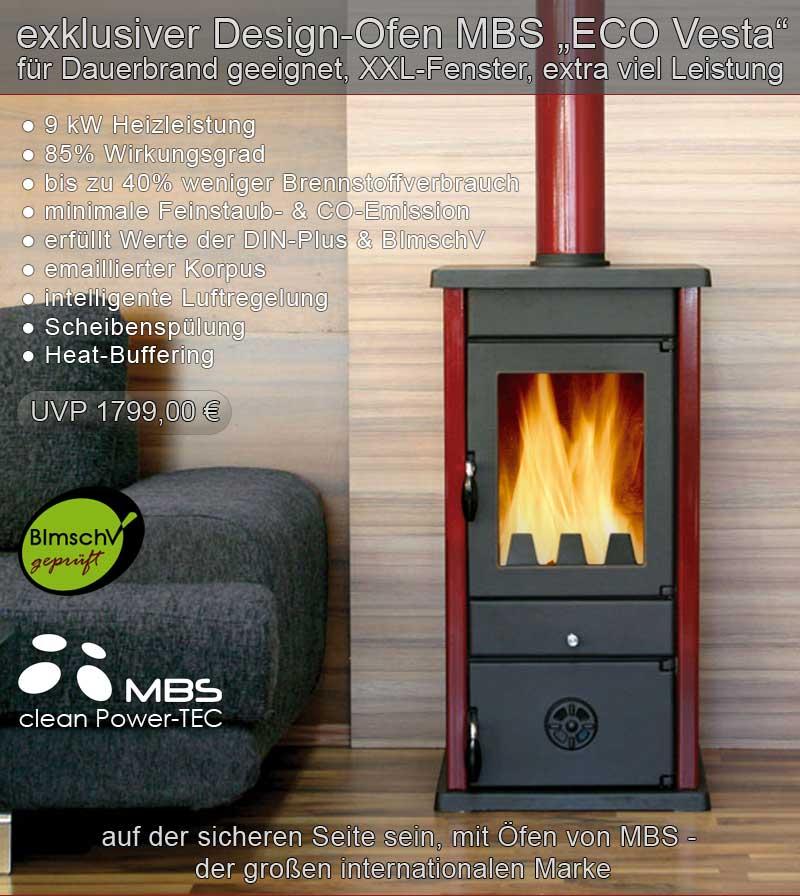 kaminofen mbs kamin ofen holzofen neu ovp ebay. Black Bedroom Furniture Sets. Home Design Ideas