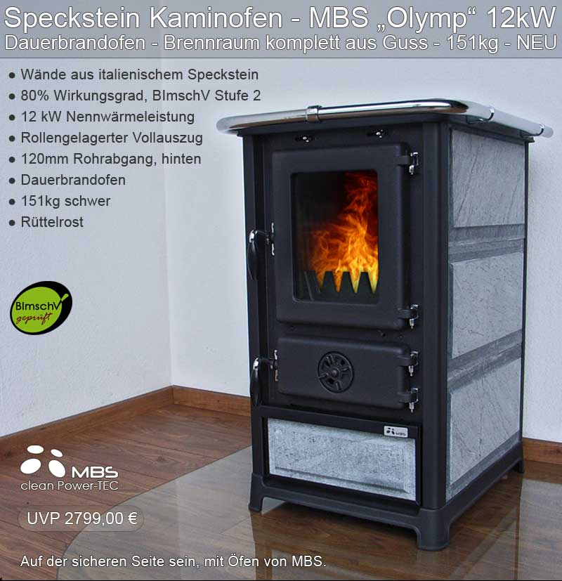 kaminofen mbs speckstein ofen kamin holzofen. Black Bedroom Furniture Sets. Home Design Ideas