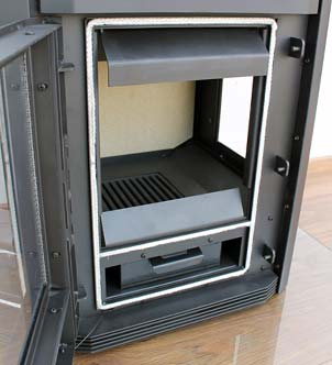 panorama kaminofen mit 3 scheiben holzofen kamin ofen ovp ebay. Black Bedroom Furniture Sets. Home Design Ideas