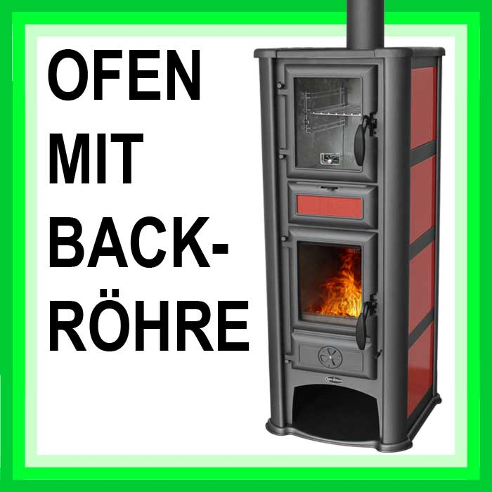 kamin ofen mit backr hre lederata plus 9kw k chen herd holz ofen backfach neu ebay. Black Bedroom Furniture Sets. Home Design Ideas